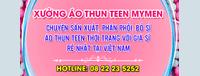 Áo Thun Teen - My Men chương trình khuyến mãi