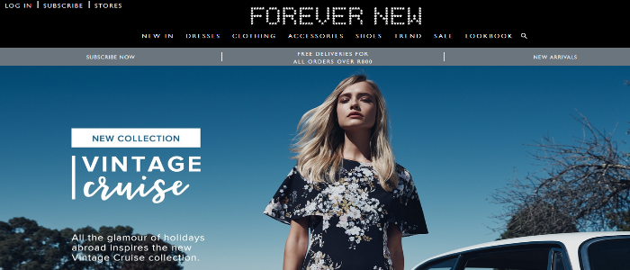 use promo codes to shop at South  Africa Forever New