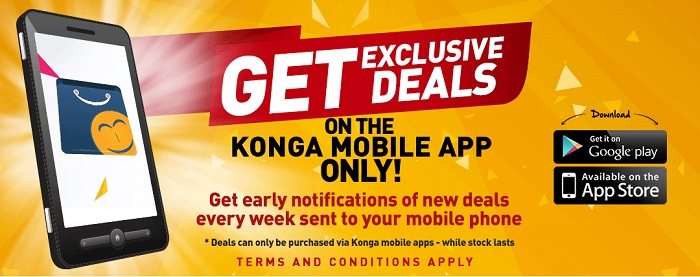 get the best deals at Konga