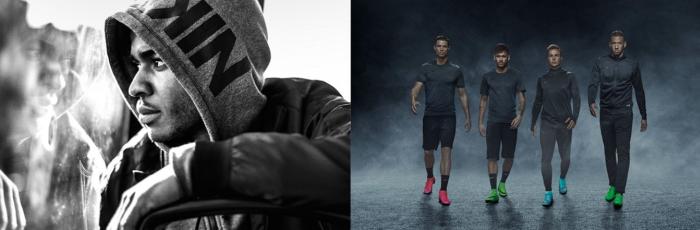 Nike's footwear range