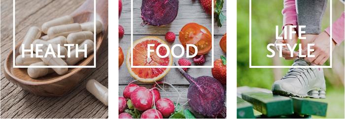 Health, Food, Lifestyle