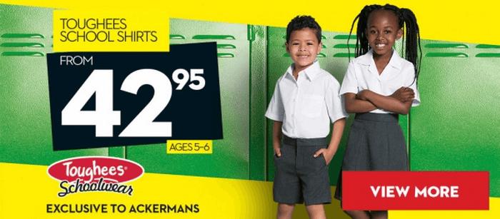 ZA Ackermans kids' clothes