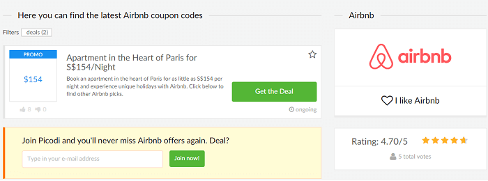 Air bnb coupon codes