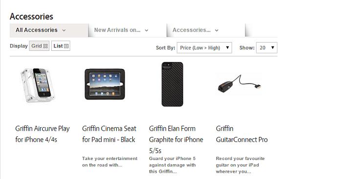 zastore accessories