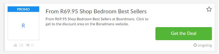 ZA Boardmans special offer