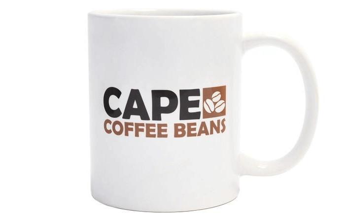 Cape Coffe Beans mug