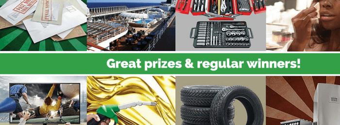 ZA Consumer Rewards prizes