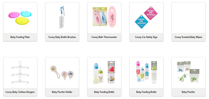 ZA Crazy Store kids products