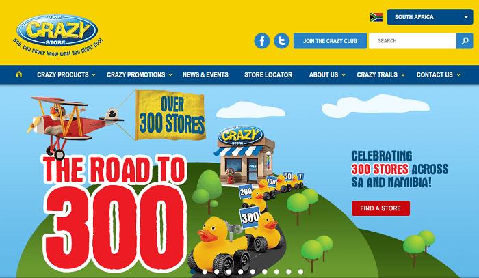 ZA Crazy Store promotions