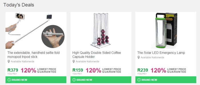 ZA Daddy's Deals discount