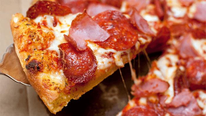 ZA Domino's Pizza pepperoni