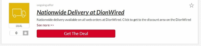shopping with Picodi's voucher codes at Dionwired
