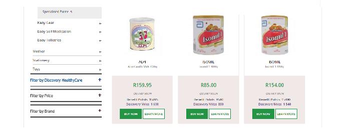 ZA Dis-Chem discounts