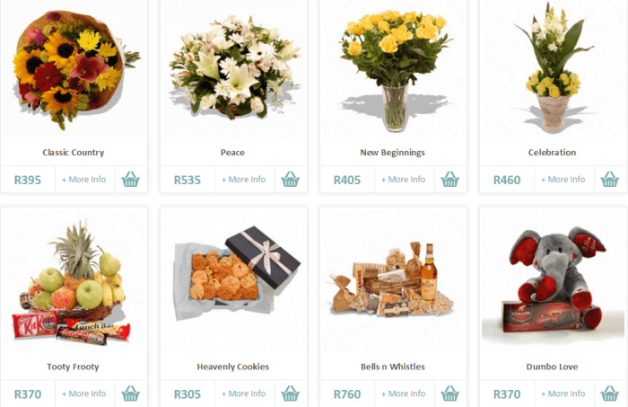 Save on beautiful flower arrangements with Flowers.co.za voucher codes