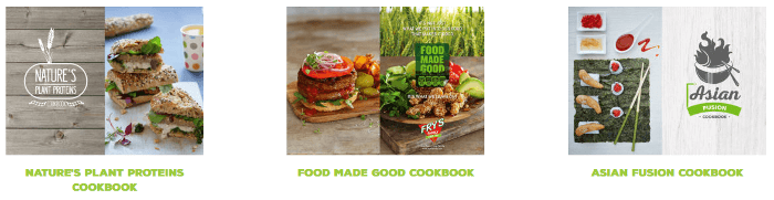 ZA Fry's Family Foods cookbooks