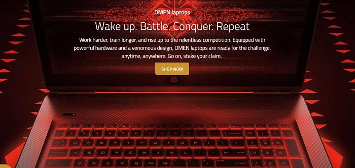 ZA HP Shop home page