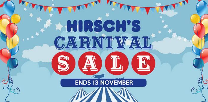 ZA Hirschs sale