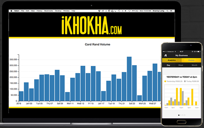 ZA Ikhokha sales tracking