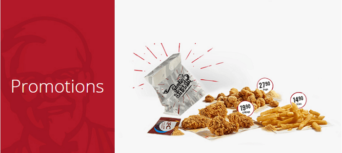 South Africa KFC special offers