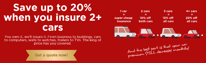ZA King Price Insurance discount