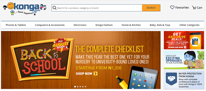 Shop with Konga voucher codes