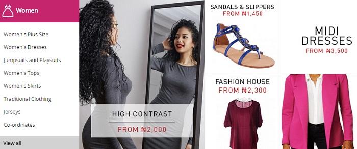 ZA Konga women's fashion