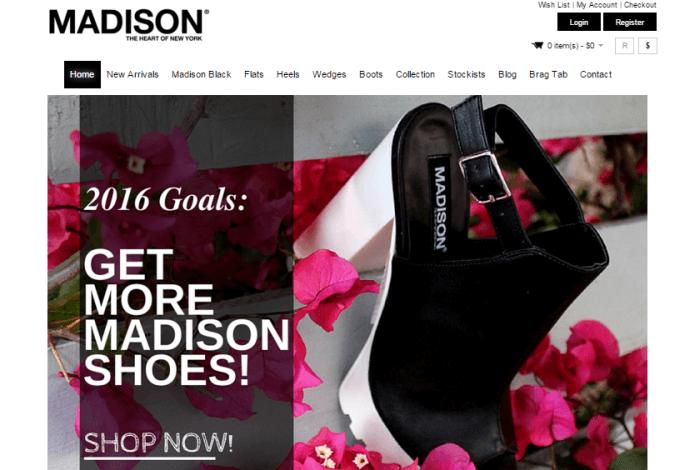 Madison promotional codes