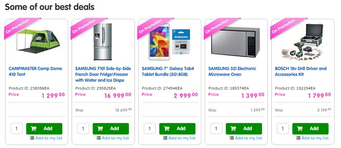 Makro online shopping south africa