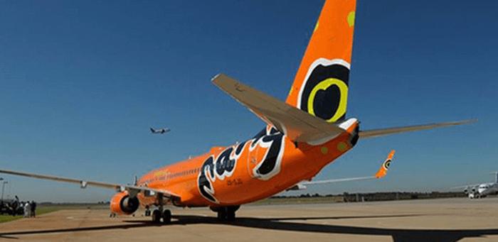 ZA Mango Airlines plane
