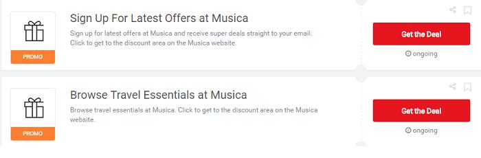 ZA Musica vouchers