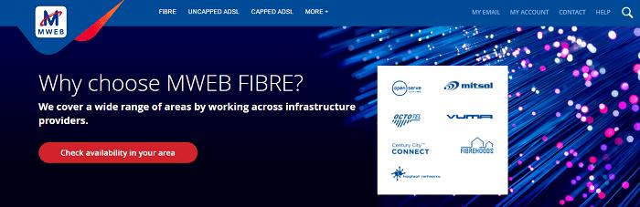 ZA MWEB fibre