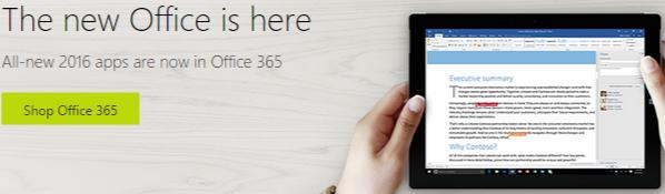 SA Microsoft Store Office update
