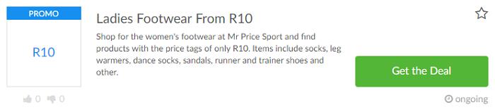 Mr Price Sport Deals