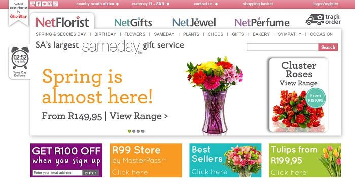 ZA Netflorist special offers