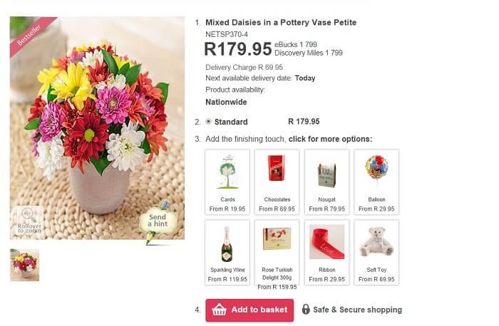 ZA Netflorist flowers