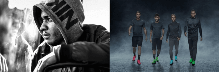 Nike's footwear