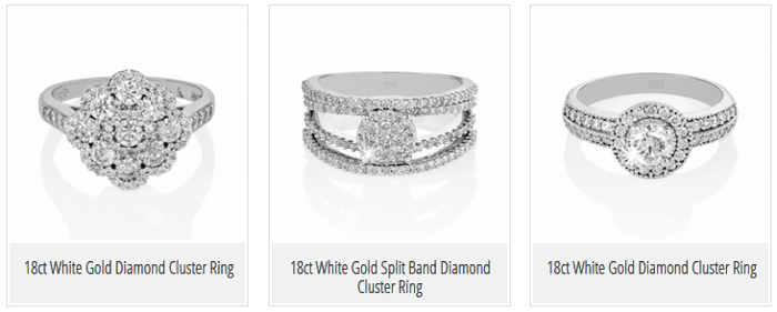 ZA NWJ diamond rings