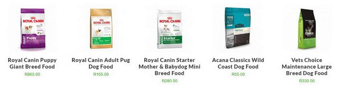 ZA Pet Heaven dog food