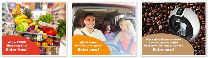 ZA Consumer Surveys competitions