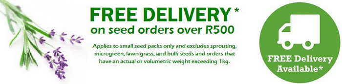 ZA Seeds for Africa free delivery