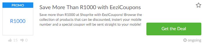 ZA Shoprite deal