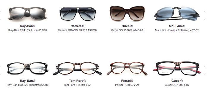 Wide range of frames