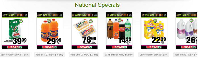 Spar online shopping south africa