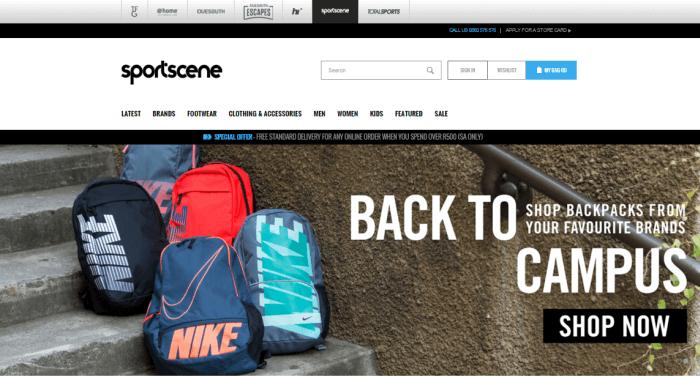 ZA Sportscene apparel