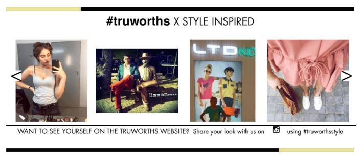 Truworths inspired