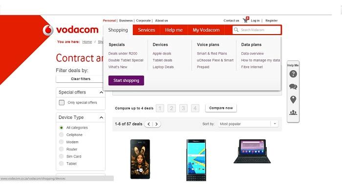 ZA Vodacom specials