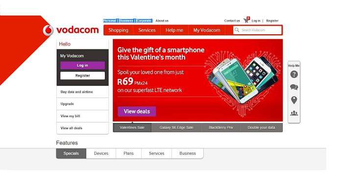 ZA Vodacom deals