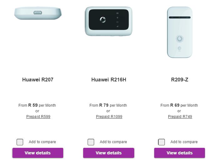 ZA Vodacom Huawei