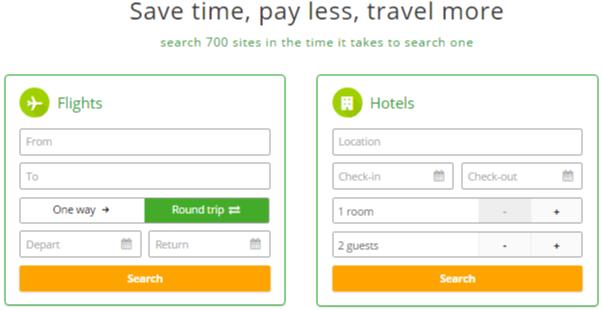SA Wego hotel & flight search