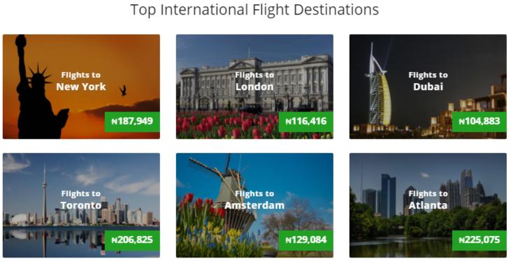 SA Wego international flights offer